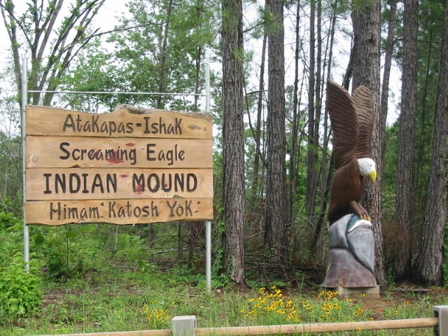 Atakapa Ishak Indian Mound